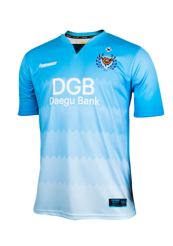 DAEGU FC HOME KIT FOR ACL (PREMIUM - 전사형) / 마킹 후부착