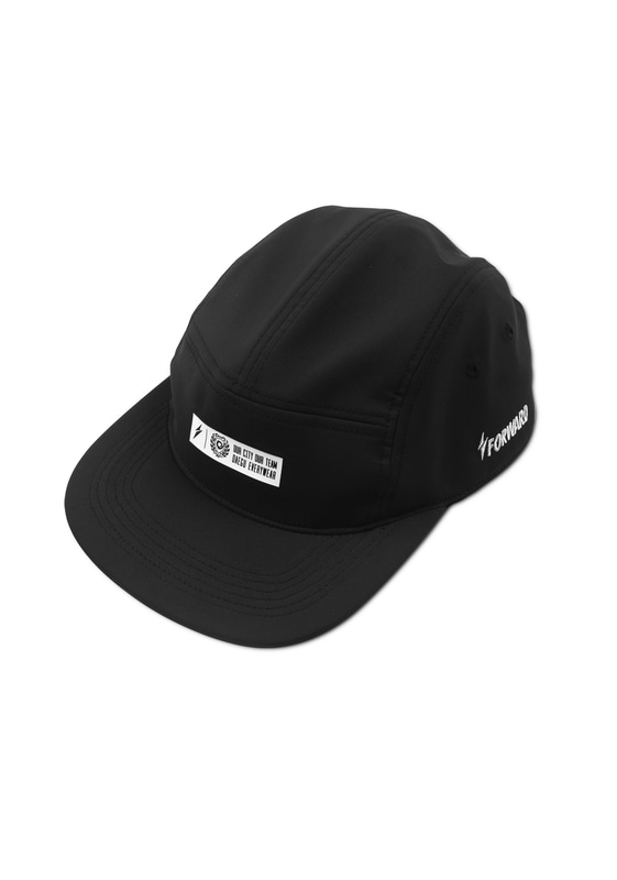 D.G.F.C CAMP CAP (BLACK/WHITE)