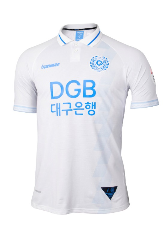 DAEGU FC 2020 AWAY KIT FOR K LEAGUE 'FORCOOL' (AUTHENTIC)