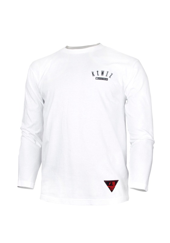 FORWARD kt wiz ARCH LOGO CREWNECK (WHITE/BLACK)