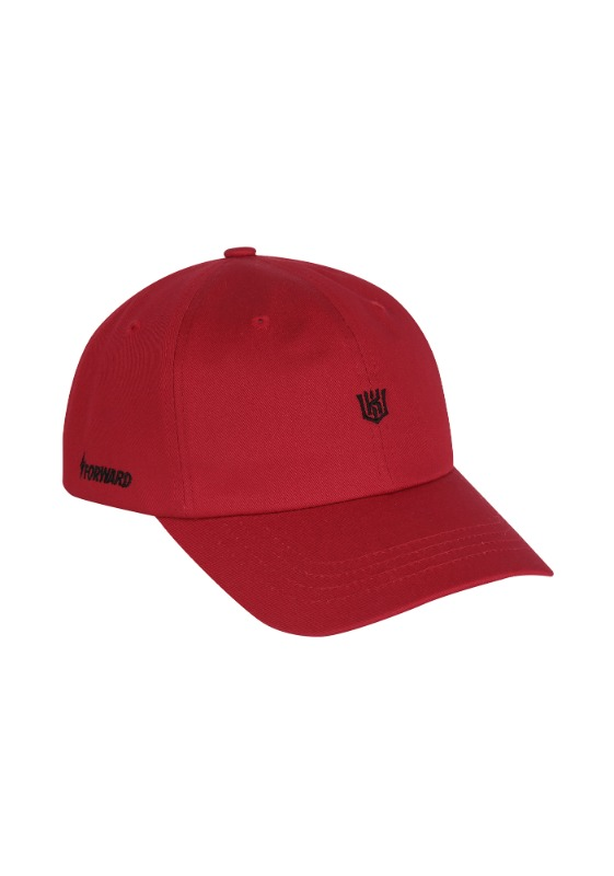 FORWARD kt wiz TEAM LOGO CAP (RED/BLACK)