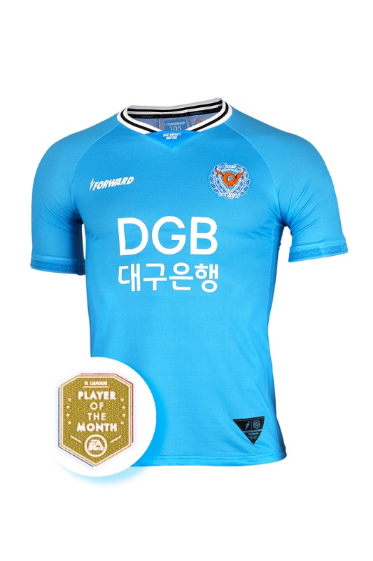 [POTM PACK] DAEGU FC 2020 HOME KIT FOR K LEAGUE 'FORCOOL' (AUTHENTIC)